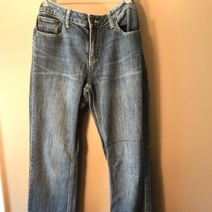 NY&C size 12 low rise, skinny, curvy jean